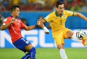 Χιλή Αυστραλία 3-1 (video)