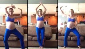 Έγκυος χορεύει Michael Jackson για να της σπάσουν τα νερά (video)!