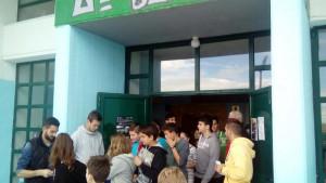 Ολυμπιακός Βόλου: Μοίρασαν εισιτήρια σε σχολείο