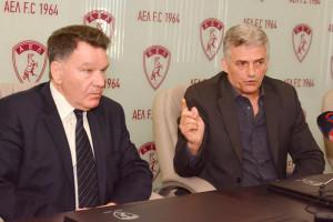 Κούγιας: «Έφεραν τον καλύτερο Έλληνα προπονητή στην ΑΕΛ»
