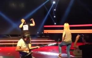 X Factor: Η πρόβα του Πόντιου πριν το Live και το σχόλιο της Πέγκυς Ζήνα (Video)