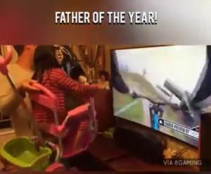 Ο μπαμπάς της χρονιάς και του αιώνα μαζί (video