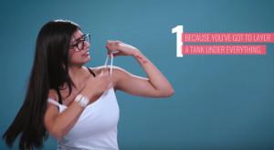 Μια πορνοστάρ αναλύει! 9 λόγοι για τους οποίους το μεγάλο στήθος είναι πρόβλημα (video)