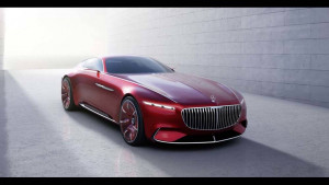 Vision Mercedes Maybach 6 και τα... μυαλά στα κάγκελα (photos)