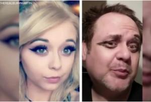 Πατέρας μιμείται τις σέλφι της κόρης του και ρίχνει το Instagram (video)