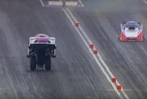 Αυτό το αυτοκίνητο παραλίγο να πετάξει (video)