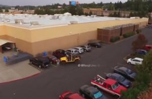 Ποτέ μην κλέβεις από τζιπ τη θέση του στο πάρκινγκ (video)
