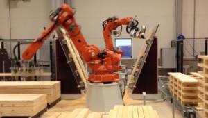 Ξυλουργός... ρομπότ, κάνει απίθανα πράγματα σε ελάχιστο χρόνο (video)
