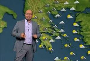 Σάκης Αρναούτογλου: Ερχεται νέα μεγάλη πτώση θερμοκρασίας από Δευτέρα (video)