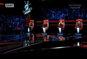 The Voice: Έπαθαν πλάκα οι coaches με τη φωνή της 16χρονης! (vid)
