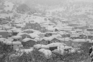 Απίθανες φωτογραφίες από τη χιονισμένη Εύβοια (photos)