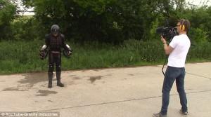 Ο αληθινός Iron - Man! (video)