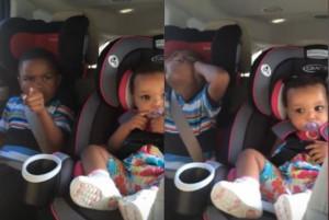 Του ανακοίνωσε ότι σε λίγο καιρό θα έχει αδερφάκι και δεν ήθελε να το πιστέψει (video)