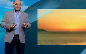 Καιρός: Ολες οι λεπτομέρειες για τον καύσωνα από τον Σάκη Αρναούτογλου (Video)