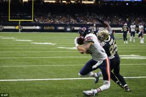 Ο χειρότερος τραυματισμός στο NFL παραλίγο να χάσει το πόδι του