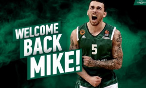 Κι επίσημα ξανά στα πράσινα ο Μάικ Τζέιμς