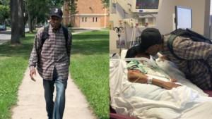 Συγκλονιστικό: 99χρονος περπατά καθημερινά 10 χλμ. για να δει την άρρωστη γυναίκα του (vid)