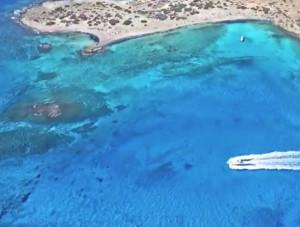 Αυτό το ακατοίκητο νησί της Ελλάδας έχει «τρελάνει» τους ξένους (video)