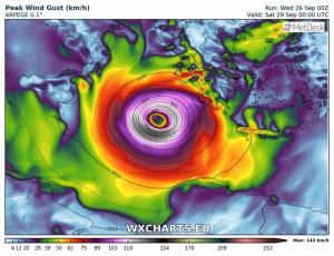 Καιρός: Ολα τα νέα δεδομένα για την πορεία και την ένταση του Μεσογειακού Κυκλώνα (video+photos)