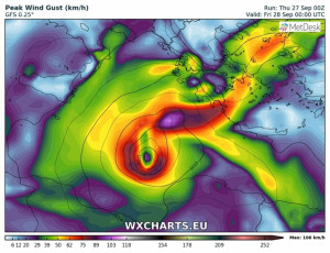 Πολιτική Προστασία: Ανακοίνωση για μέτρα προφύλαξης από τον κυκλώνα