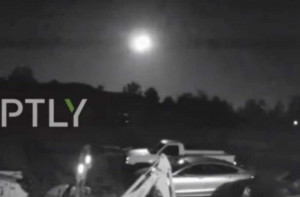 Μετεωρίτης έπεσε στις ΗΠΑ και έκανε τη νύχτα μέρα στην πολιτεία (vid)