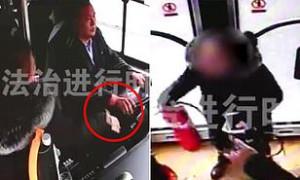 Επιβάτης πιάνει το τιμόνι επειδή της φάνηκε ακριβό το εισιτήριο (vid)