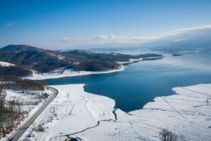 Καιρός: Απίστευτη χιονόπτωση στην Στενή Ευβοίας (Video)