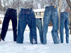 Πολική δίνη στις ΗΠΑ: Τα ρούχα μετατρέπονται σε… παγοκολόνες (vids+pics)