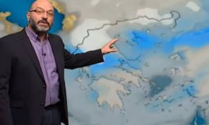 Καιρός: Η προειδοποίηση του Σάκη Αρναούτογλου για τη θερμοκρασία... (video)