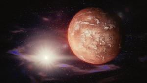 Κεφάλι πολεμιστή σκαλισμένο σε πέτρα στον Άρη;