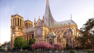 Παναγία των Παρισίων: Στη δημοσιότητα το απίστευτα εντυπωσιακό σχέδιο ανοικοδόμησης (video)