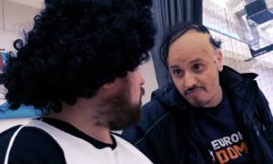 Μυθική συνάντηση των Αντετοκούνμπο με τον... κυρ-Αλέκο! (video)