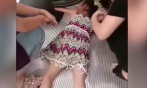 Σοκαριστικό ατύχημα για 5χρονη σε κυλιόμενες σκάλες (photos+video)
