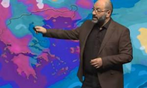 Καιρός: Η έκτακτη ενημέρωση του Σάκη Αρναούτογλου για βροχές και... ίσως χιόνια (video)