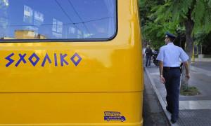 «Ξέχασαν» 3χρονο αγοράκι σε σχολικό λεωφορείο για τρεις ώρες