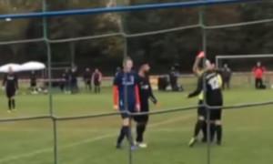 Διαιτητής έδειξε κόκκινη σε παίκτη - Δεν θα πιστεύετε την αντίδρασή του (video)