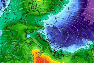 Καιρός: Δείτε καρέ - καρέ πώς έρχεται η ψυχρή εισβολή! Ο καιρός έως τις 17 Δεκέμβρη (videos)