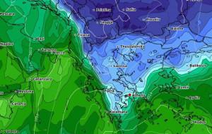 Καιρός: Νέα... εξπρές ψυχρή εισβολή την ερχόμενη εβδομάδα. Καρέ - καρέ η εξέλιξη... (video)