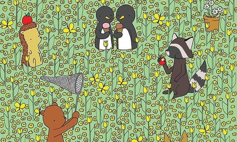 Η απόλυτη πρόκληση - Μπορείτε να βρείτε τη μέλισσα σε λιγότερο από 30 δευτερόλεπτα; (photos)