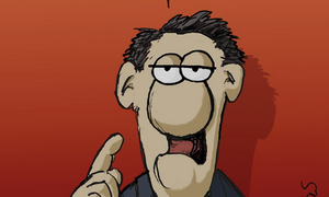 Τα νέα σκίτσα του Αρκά για τον κορονοϊό (photos)