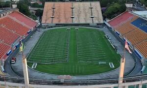 Κορονοϊός: Γήπεδο στη Βραζιλία μετατρέπεται σε νοσοκομείο (video+photos)