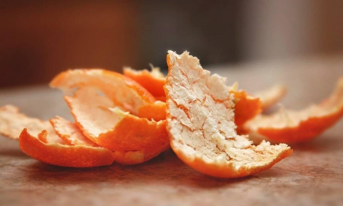 Έβαλε φλούδα πορτοκαλιού στα παπούτσια - Δεν φαντάζεστε τον λόγο (photos+video)