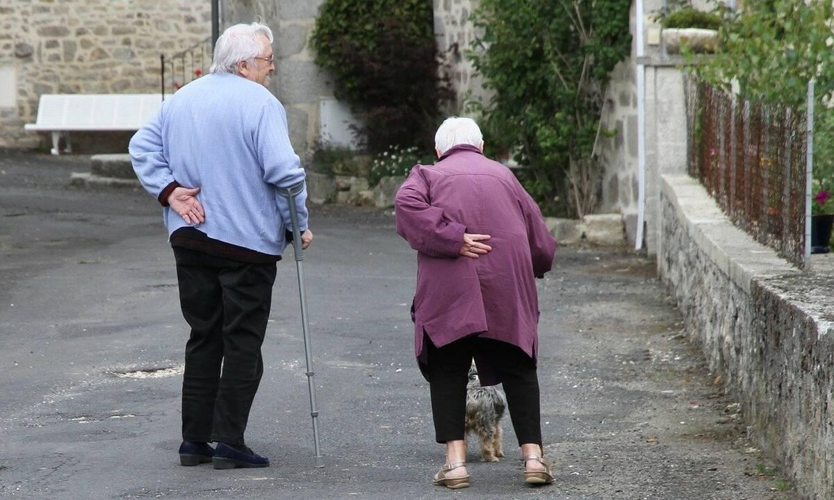 Ηλικιωμένοι δέχονται βοήθεια λόγω καραντίνας - Δεν φαντάζεστε από ποιον! (photos+video)