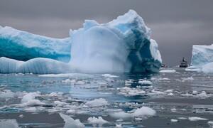 Αποκάλυψη! Εντοπίστηκε ιπτάμενος δίσκος στην Ανταρκτική! (photos+video)
