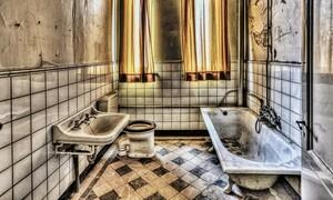 Μπήκε στο μπάνιο και έπαθε σοκ μ' αυτό που κρυβόταν κάτω από την βρύση (video)