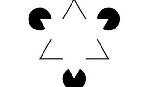 Η οπτική ψευδαίσθηση που θα σας τρελάνει! Πόσα τρίγωνα βλέπετε; (photos)