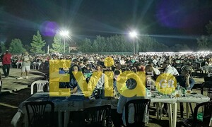 Χαμός σε πανηγύρι στην Εύβοια – Περισσότερα από 2.000 άτομα στο χώρο (pics+vids)