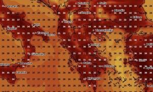 Καιρός: Ζεστός μέχρι και το τέλος Αυγούστου! Καρέ - καρέ η εξέλιξη (photos)
