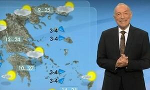 Καιρός: Επιμένει ο Αρνιακός να μην κάνει καμία αναφορά για μεσογειακό κυκλώνα (vid)