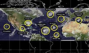 Καιρός: Βράζουν οι θάλασσες και γεννούν «τέρατα»! 11 ακραία φαινόμενα σε εξέλιξη